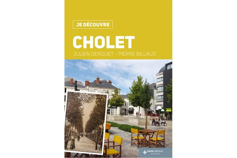 Cholet tourisme boutique livre collection Je découvre Geste Editions