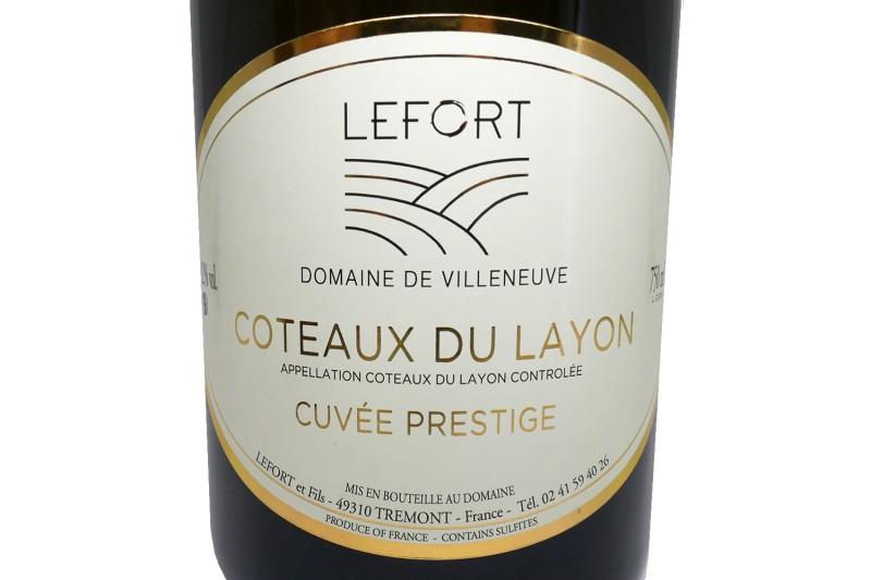 Coteaux du Layon PRESTIGE Domaine de Villeneuve