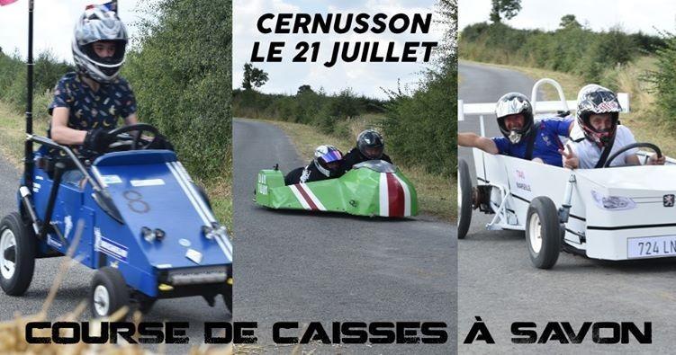 Cholet Tourisme Course Caisse à Savon Animation Familiale Cernusson