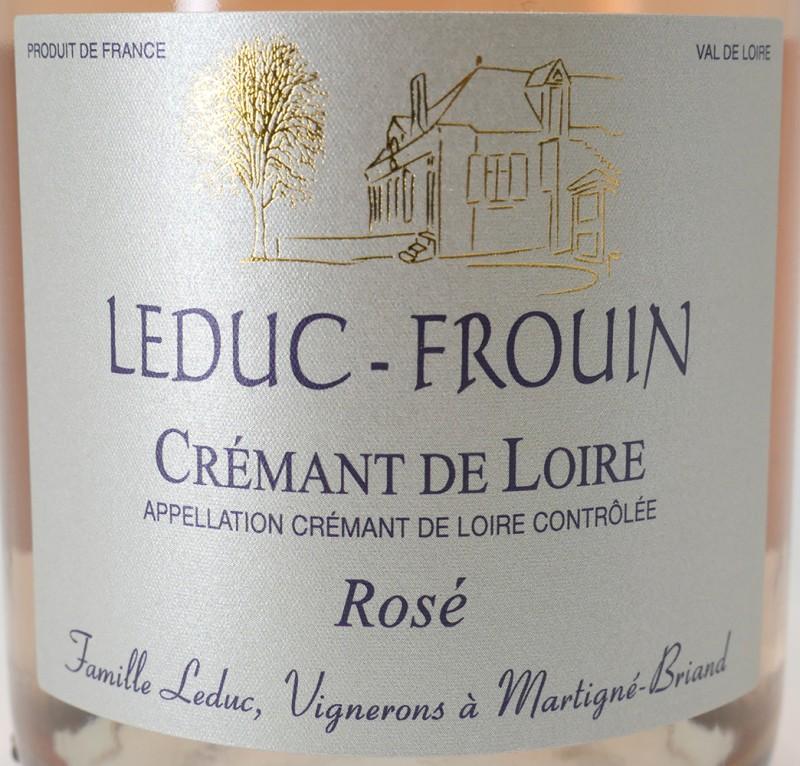 Crémant de Loire Rosé Domaine Leduc-Frouin