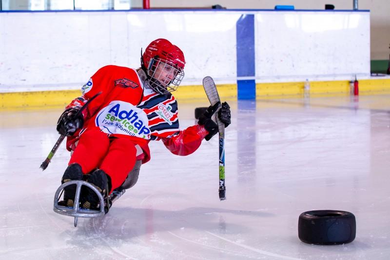 Découverte : le Para-Hockey sur glace