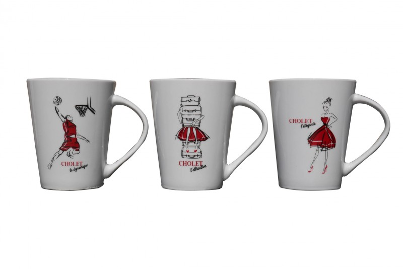Cholet tourisme Rouge Collection Surprenant Choletais mug