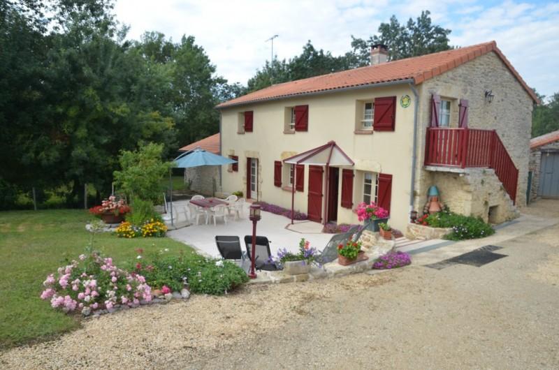 Cholet Tourisme Gîte Le Moulin du Pont d'Aubigné Tigné 49