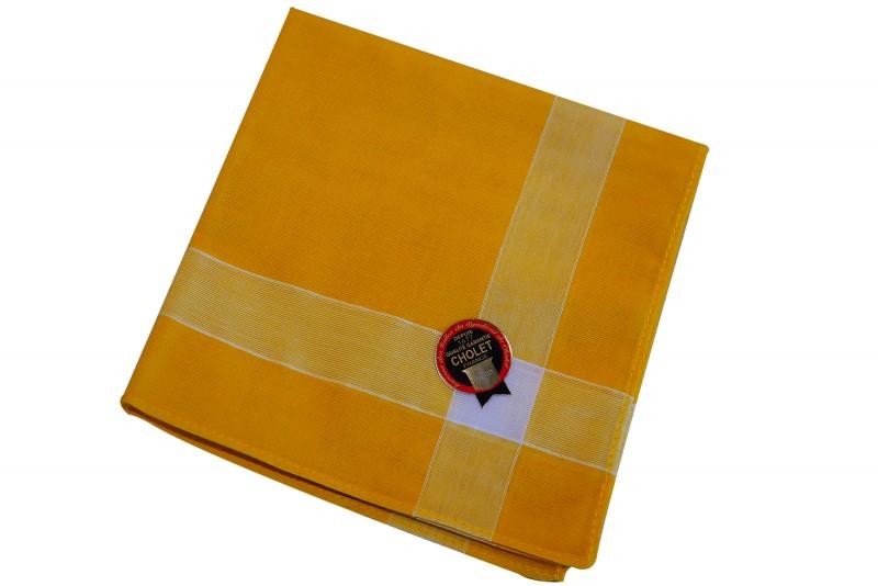 mouchoir-de-cholet-jaune
