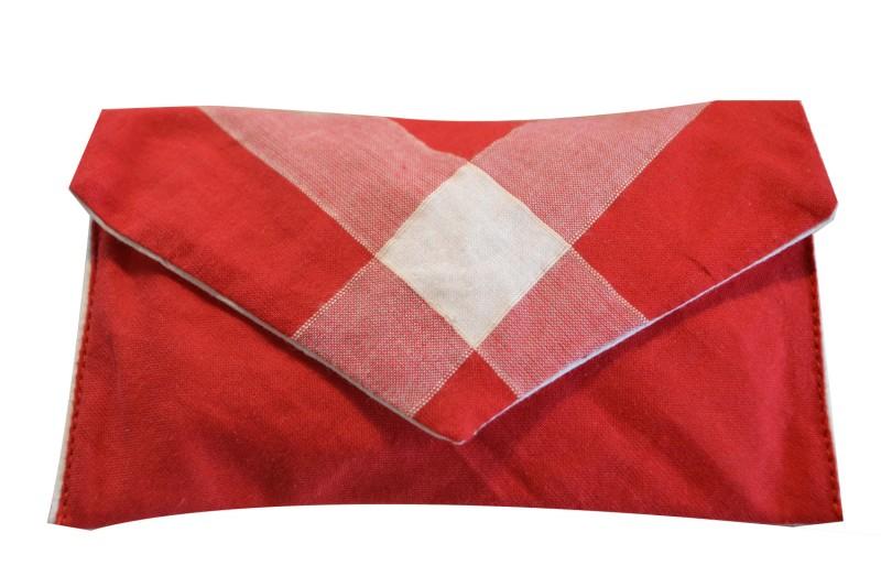Pochette Rouge Mouchoir