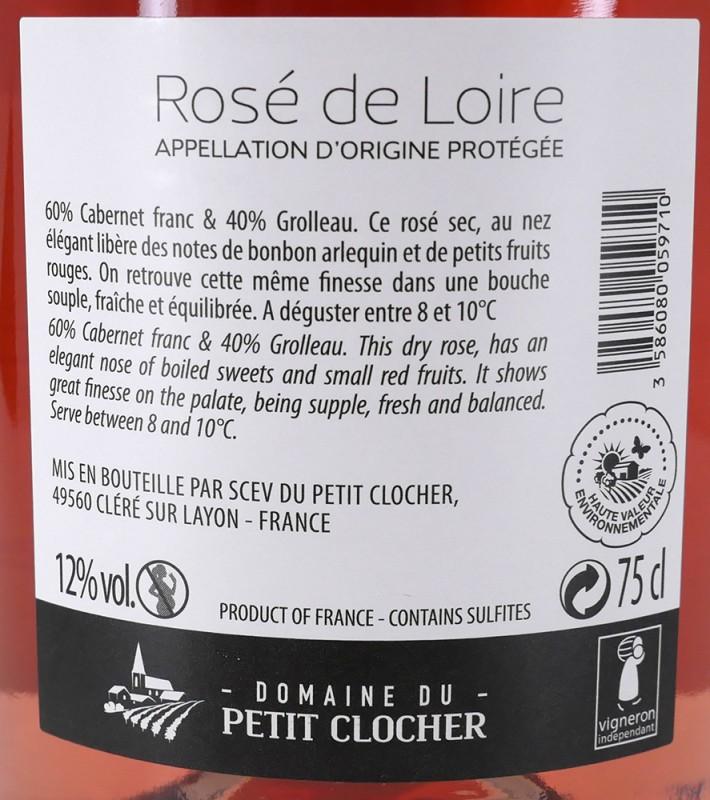 Rosé de Loire Domaine du Petit Clocher