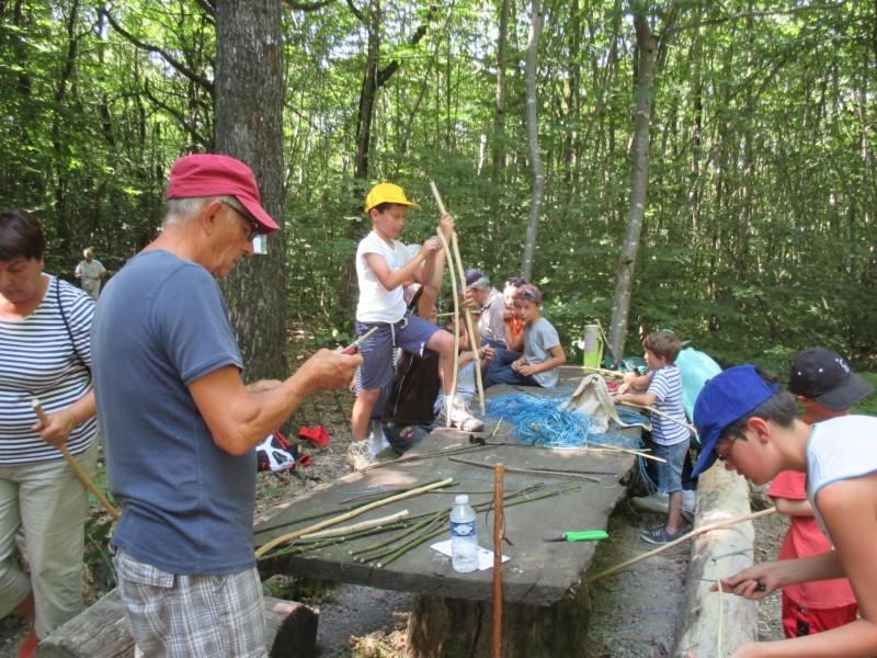 Cholet Tourisme Sortie Trappeur Nature Saint-Paul-du-Bois Famille Enfants