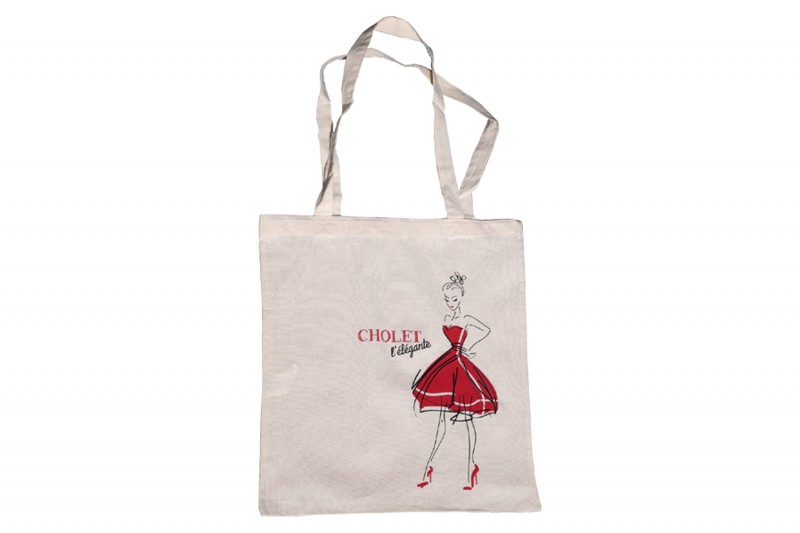 Cholet tourisme boutique Rouge Collection sac tote-bag