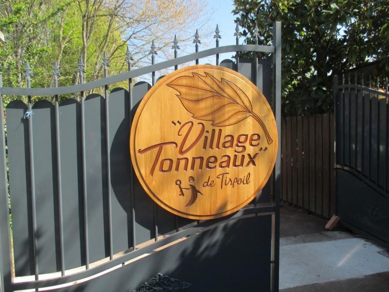 Cholet Tourisme Hébergement Insolite Village Tonneaux Tirpoil Montilliers